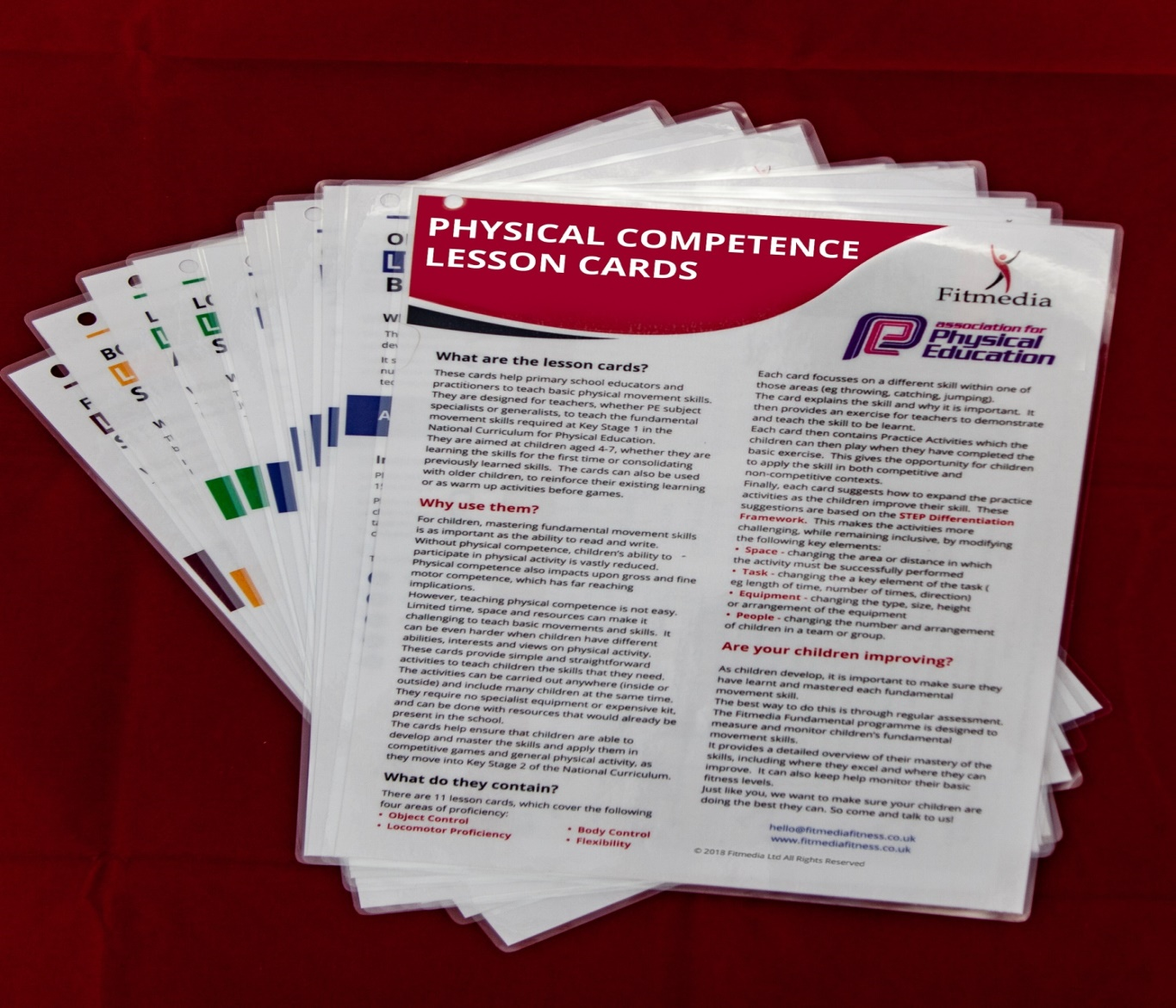 Fitmedia/afPE Lesson Cards Fitmedia Fitness